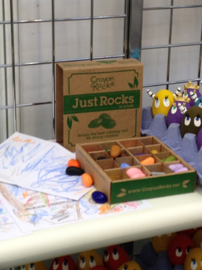 Just Rocks Packaging and Product Complete with our Scribbles