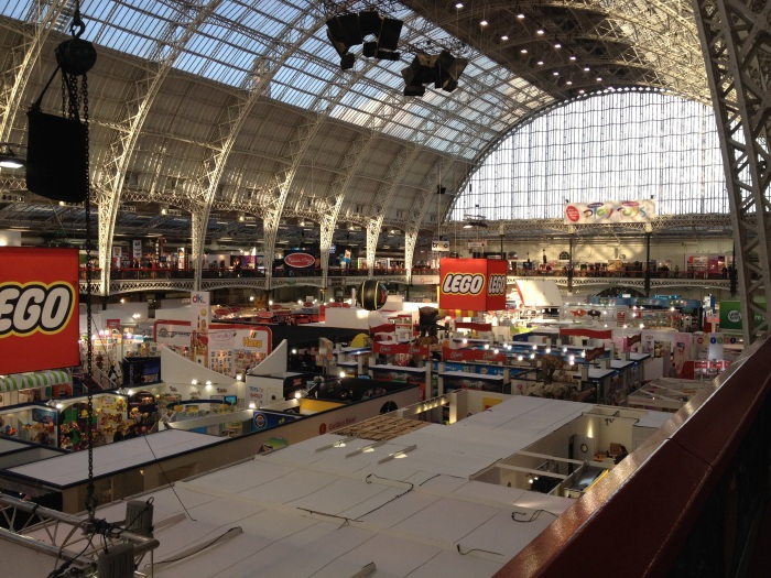 The Toy Fair Space View From Balcony