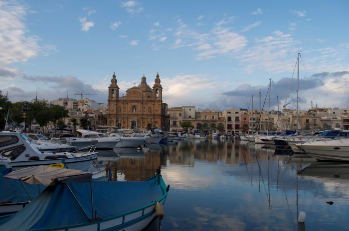 The coastal walk from Sliema to Valletta