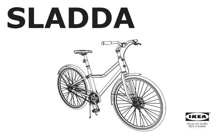 IKEAs SLADDA bike